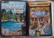 Schwimmbad und Waterpark Tycoon PC-DVD-Spiel