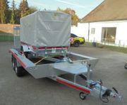 PKW XL Tieflader Anhänger 4m
