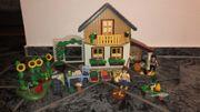 Playmobil Wohnhaus mit Hofladen