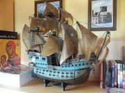 Modellschiff spanische Caravelle