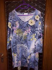 Long-Shirt Gr 50 Orchideenblüten u