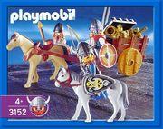 PLAYMOBIL Wikinger Barbaren mit Beiboot