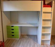 IKEA Hochbett STUVA in weiß