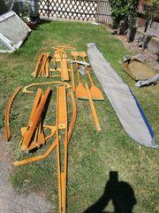 gebrauchtes Faltboot in gutem Zustand