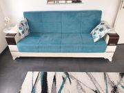 Couchgarnitur 3-teilig Couchtisch