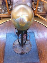 Gurschner Gustav Tischlampe aus Bronze