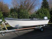 Crescent 434 Angelboot führerscheinfrei Honda