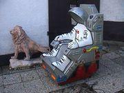 Rarität Kinderschaukel-Automat Astronaut Kiddie-Ride nicht