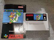 SNES Super Mario World mit