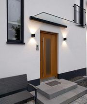 Haustürüberdachung nach Wunsch