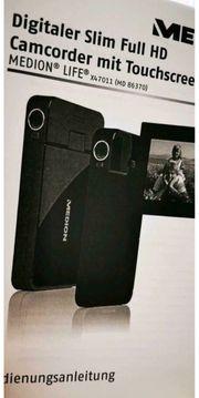 Slim-Full-HD-Camcorder für die Hosentasche