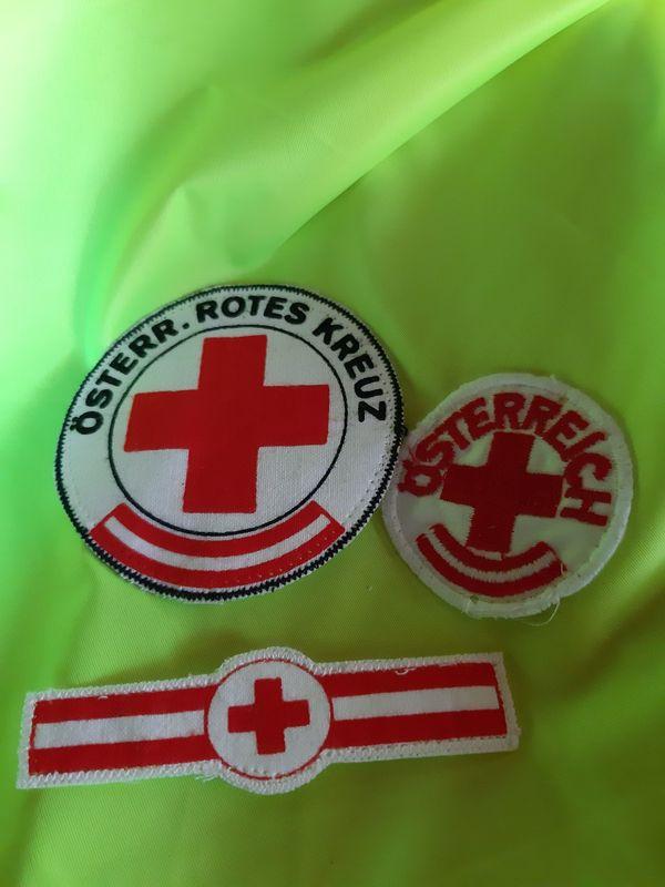 Rotkreuz Embleme zum Aufnähen