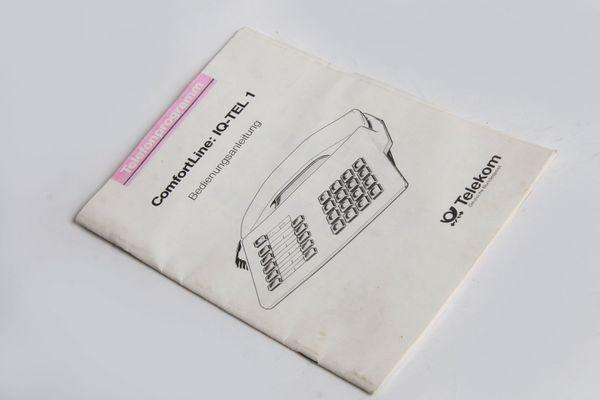 Bedienungsanleitung DBP Telekom Tasten-Posttelefon Comfortline