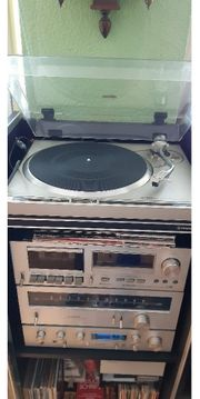 Pioneer Stereoturm Stereoanlage Plattenspieler Musikturm