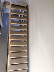 Bautreppe Holzstiege Hilfstreppe
