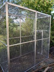 Aluvoliere Käfig Vogelkäfig Papageienkäfig