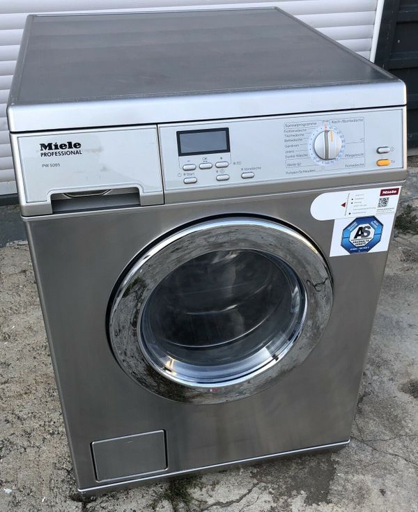 Miele Waschmaschine PROFESSIONAL PW5065 LP Edelstahl 6,5KG ...