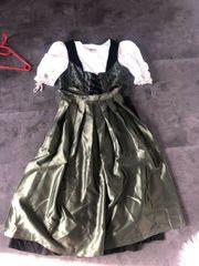 Dirndl Kleid grün schwarz gr