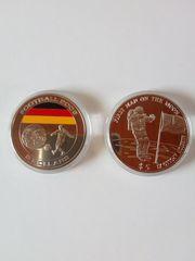 Liberia 2x5 Dollar Football 2006