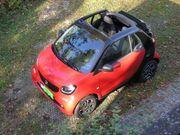 Winter-Schnäppchen Smart ForTwo Cabrio Twinamic