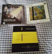 3 LP Schallplatten Klassik-Classic Bach-Brahms-Mendelssohn-Bartholdy