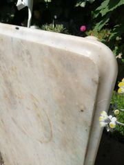 Marmorplatte alt