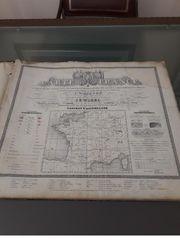 Carte de la France 1835