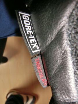 Bild 4 - Motorradhandschuhe Goretex Gr 7 5 - Oberrot