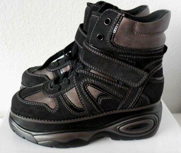 Trendy Chunky Plateau Sneaker Gr