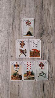Kartenlegen lernen Kurs Lenormandkarten