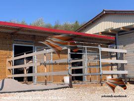 Pferdeboxen, Stellplätze - Modernen Pferdestall bauen Aussenboxen Pferdeboxen