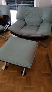 hochwertiger Lederland UDC Sessel und