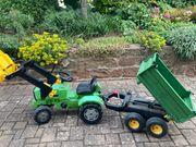 Trettraktor Rolly Toys