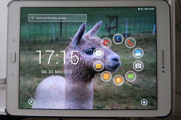 Samsung Tab S2 -weiss-T819- sehr