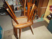 6 Holzstühle