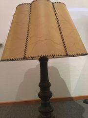 rar Antike Tisch-Lampe 1930