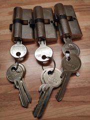 3 Tür - Schlösser
