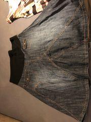 Jeans Umstands Rock Größe 42