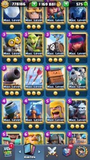 Clash Royale Account Full maxed