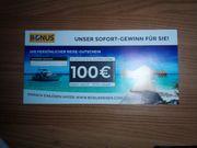 Reisegutschein Wert 100 - EUR - 50 -
