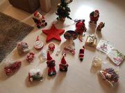 Großes Konvolut an Weihnachtsdeko nur