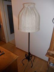 Stehlampe handgeschmiedet um 1950