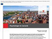Psychologe -in m w d