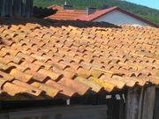 Handgeformte Dachziegel Holziegel