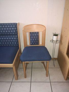 Eckbankgruppe blau mit Tisch und: Kleinanzeigen aus Neustadt Lachen-Speyerdorf - Rubrik Speisezimmer, Essecken