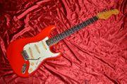 Genuine 1962 Fender Stratocaster Fiesta