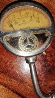 Mercedes Benz Luftdruckprüfer antik