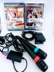 Playstation 2 Singstar Set mit