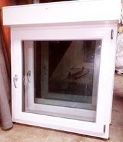 5 weiße Kunststoff Fenster m