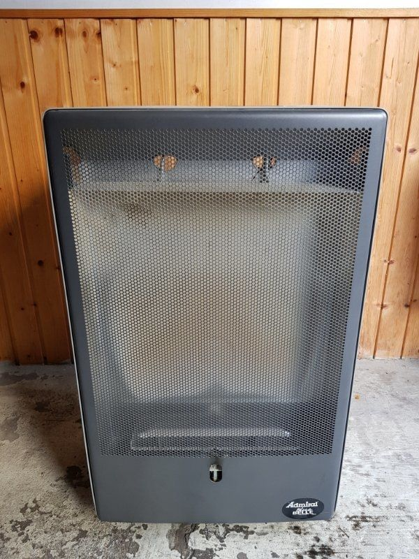Gasheizer mit Gasdruckregler